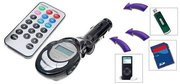 FM-- Модулятор MP3 проигрыватель SD